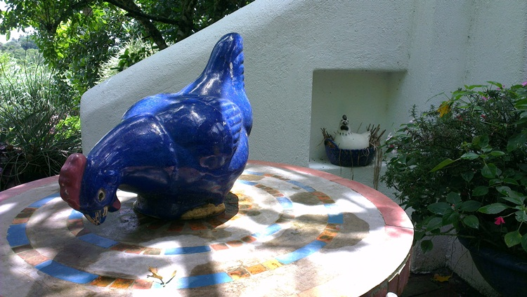 Blue Chicken at Marcia Adams