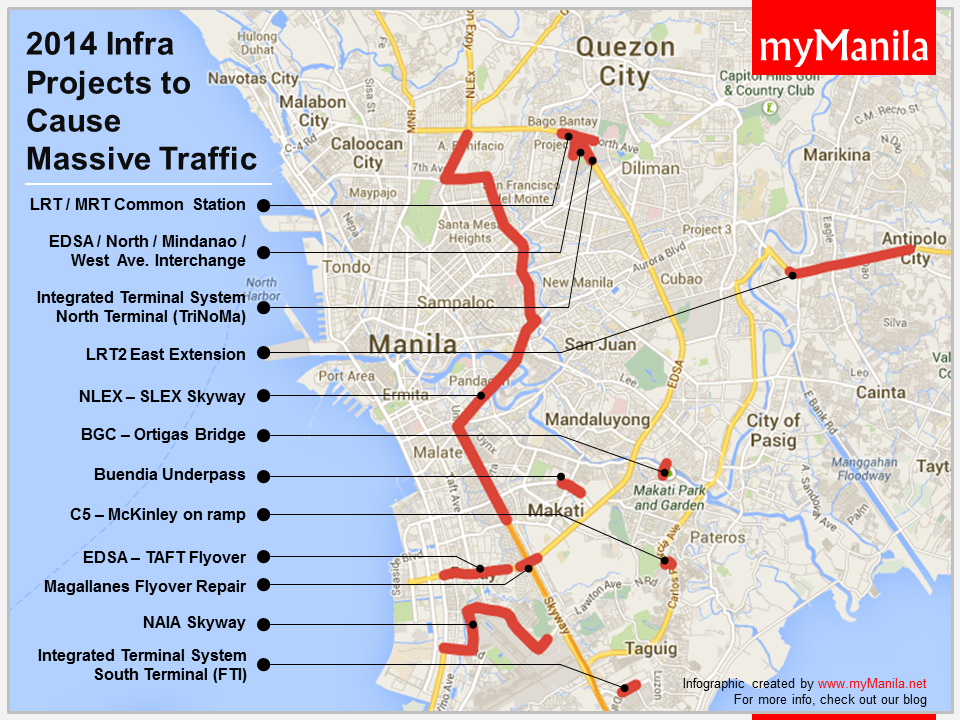Traffic-geddon in Manila